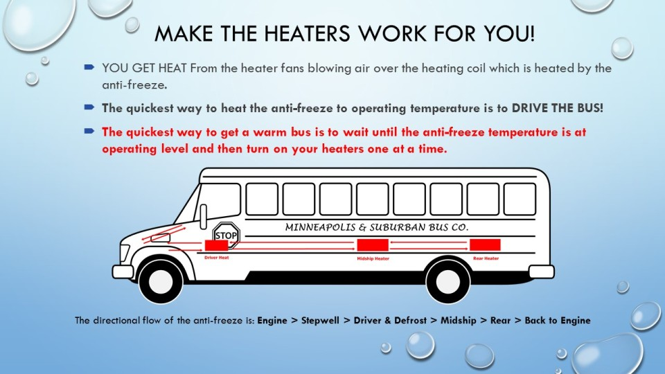How School Bus Heaters Work